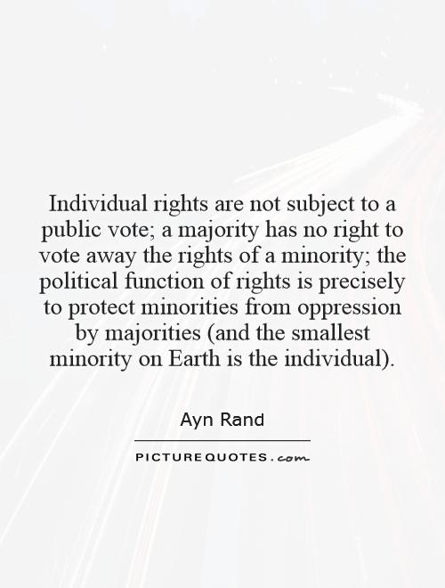 Individual Rights Constitution Quotes, Quotations & Sayings 2018