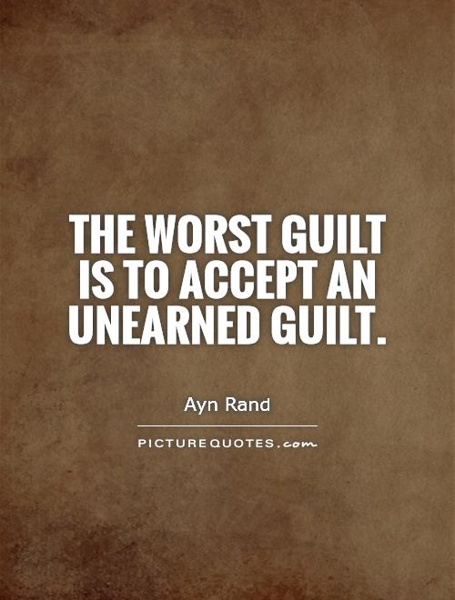 A guilty conscience quotes