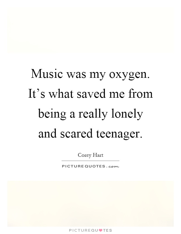 Music was my ox...