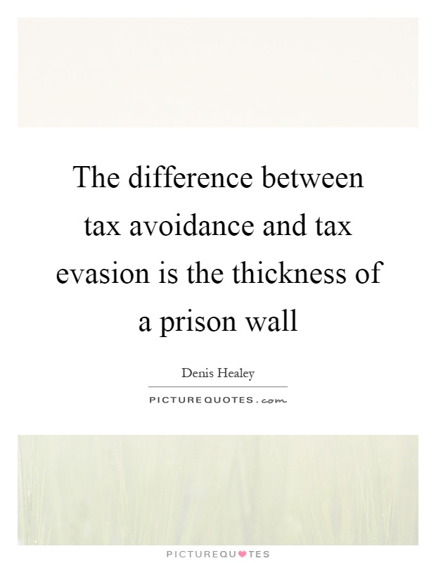 the distinction between tax avoidance and Worksheet solutions the difference between tax avoidance and tax evasion theme 1: your role as a taxpayer lesson 3: the taxpayer's responsibilities.