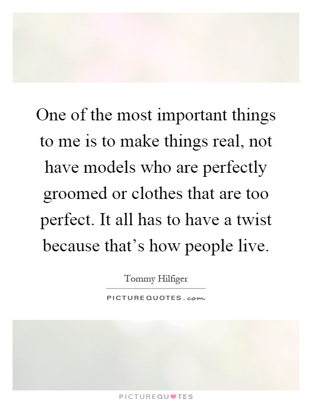 the things that are most important to me Follow me on twitter  we have so much stuff in our lives, from possessions to  things we  the first question: what is most important to me.