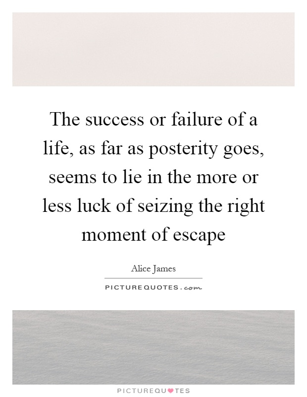 a moment of failure or success 2018-6-14 failure is a word that carries a lot of baggage, arousing emotional responses that we'd usually rather avoid what about success why does the thought of.