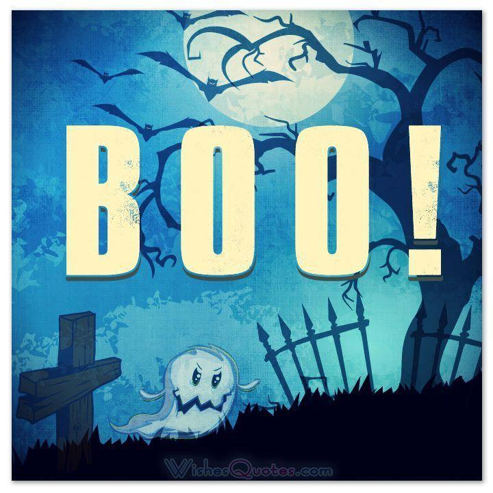 Boo! Picture Quote #1