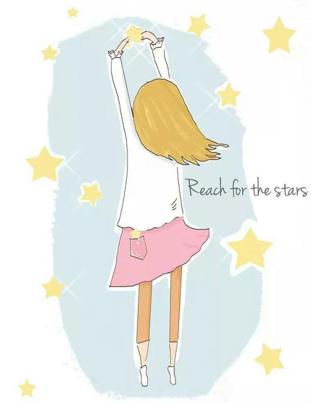 Reach for the stars Picture Quote #1