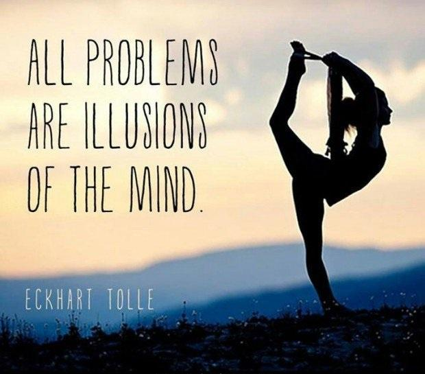 All problems are illusions of the mind Picture Quote #2