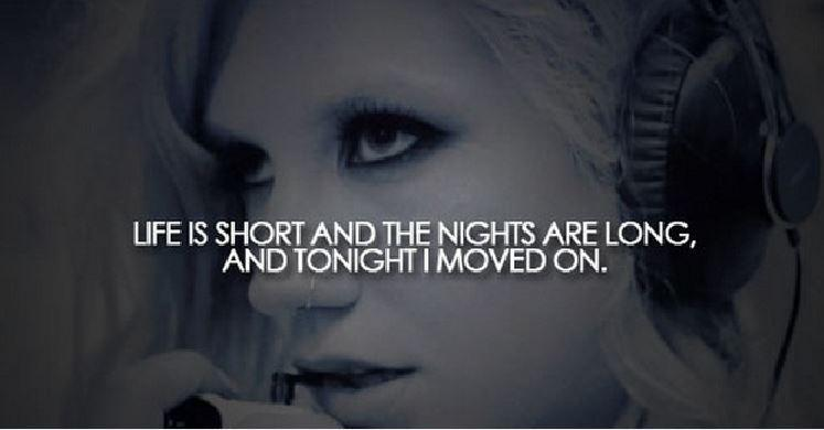 Lift is short and the nights are long, and tonight I moved on Picture Quote #1