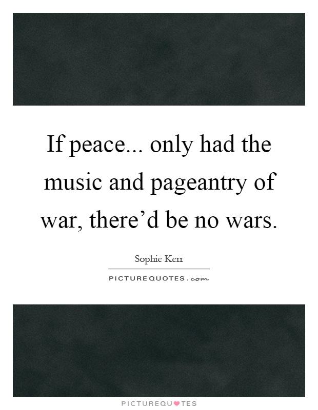 war music only