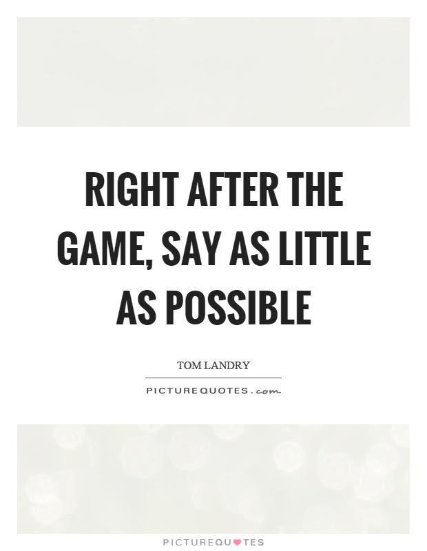 Tom landry motivational quotes