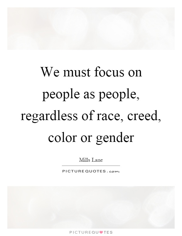 a personal recount about the influence of race and gender on ones life Race, gender and class shape the experience of all people this fact has been widely documented in research and, to some extent, is commonly understood new studies interpret race, gender, class as interlocking categories of experience that affect all aspects of life thus they simultaneously structure the experiences of all people in society.