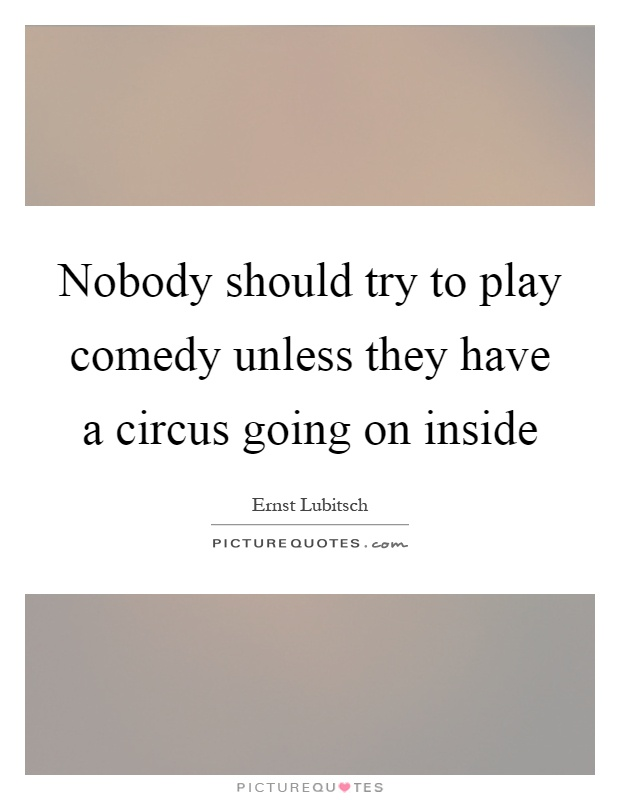 lubitsch quotes