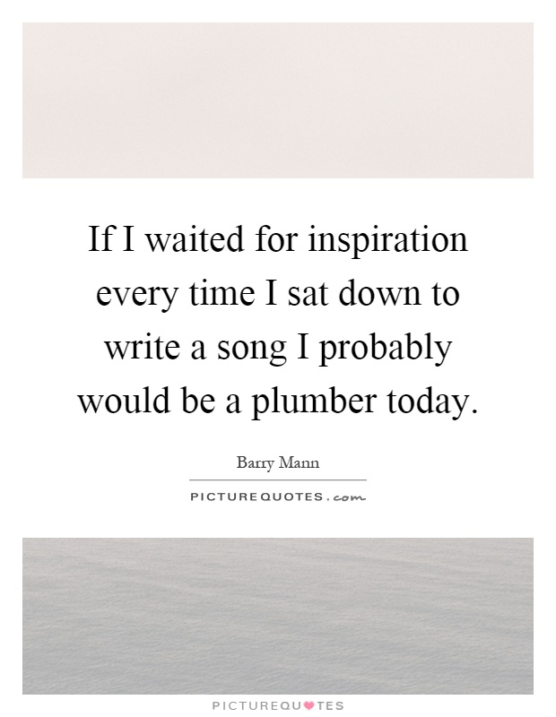 get inspired to write a song