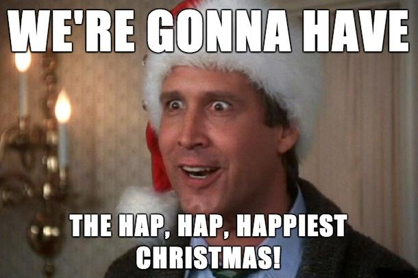 Beau Weu0027re Gonna Have The Hap Hap Happiest Christmas Picture Quote #1