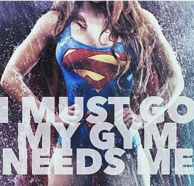 I must go - my gym needs me Picture Quote #1