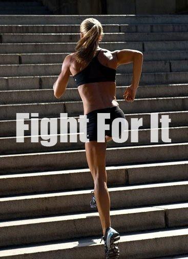 Fight for it Picture Quote #1