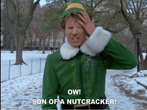 Ow! Son of a nutcracker! Picture Quote #1