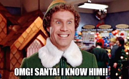 OMG! Santa! I know him!! Picture Quote #1