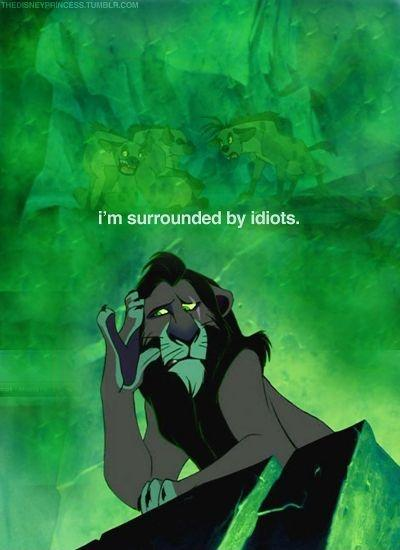 I'm surrounded by idiots Picture Quote #1