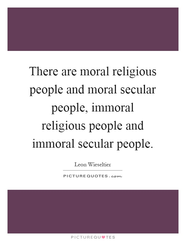 an analysis of moral and immoral Moral philosophy includes moral ontology, which is the origin of morals and moral epistemology, which is the knowledge of morals different systems of expressing morality have been proposed, including deontological ethical systems which adhere to a set of established rules, and normative ethical systems which consider the merits of actions.