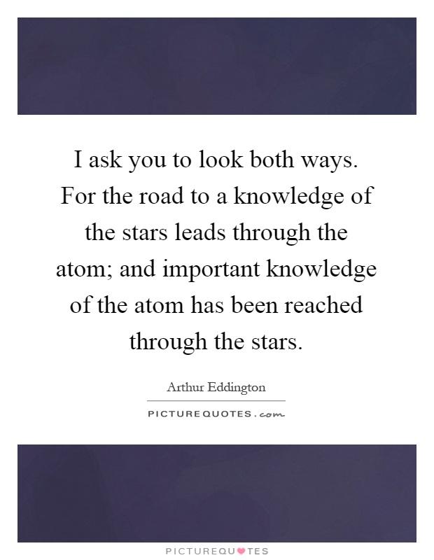 Look both ways quotes