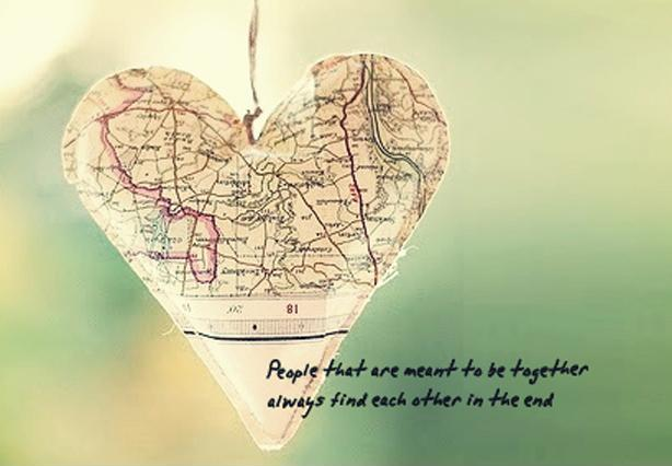 People that are meant to be together always find each other in the end Picture Quote #1