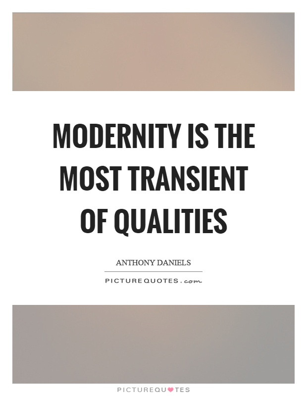 essay on tradition against modernity