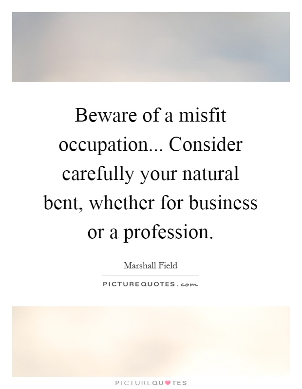 how to become a misfit