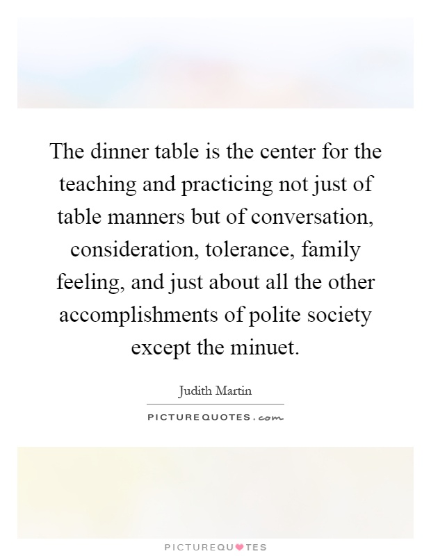 135 dinner table quotes by quotesurf for Table quotes