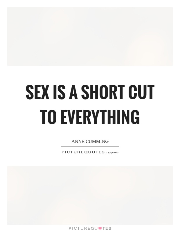 Short quotes about sex