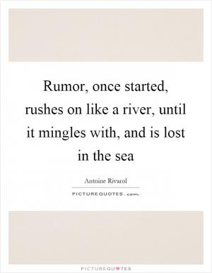 Exciting Quotes About How To Deal With Rumors