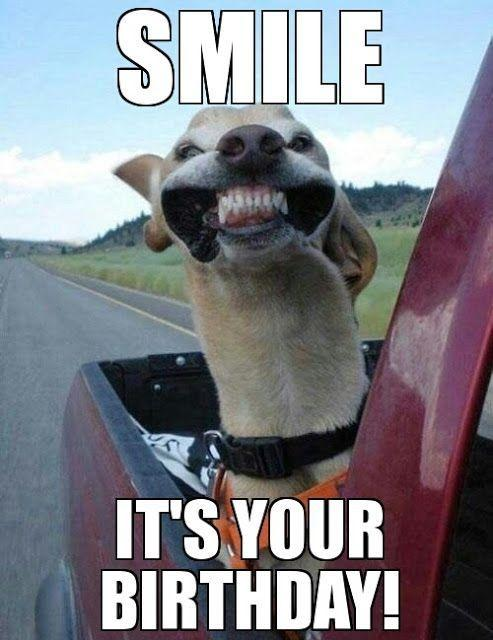 Smile it's your birthday Picture Quote #1