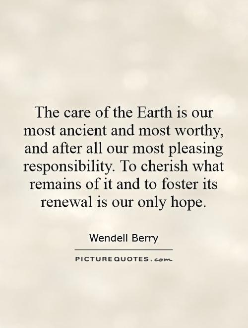 wendell berry an entrance to the woods essay