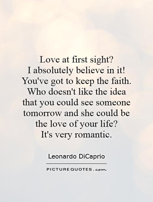 Great Quotes About Love At First Sight : Love At First Sight Quotes & Sayings Love At First Sight Picture ...
