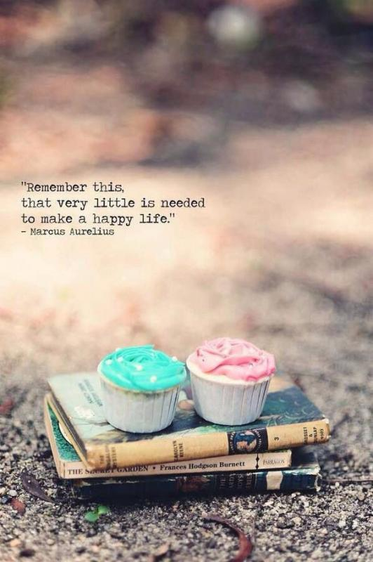 Remember this, that very little is needed to make a happy life Picture Quote #1