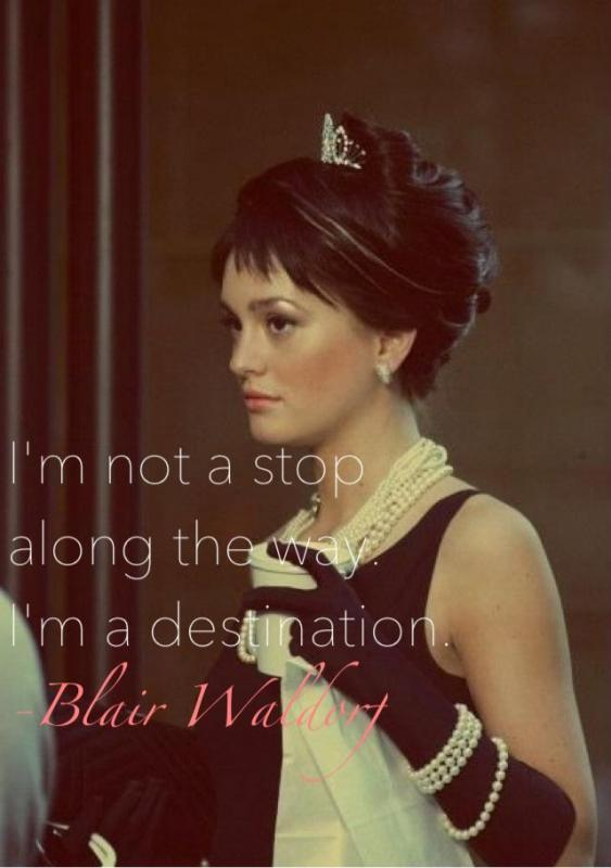 I'm not a stop along the way. I'm a destination Picture Quote #1