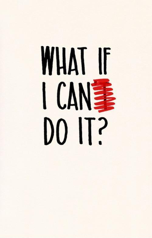 What if I can do it Picture Quote #1