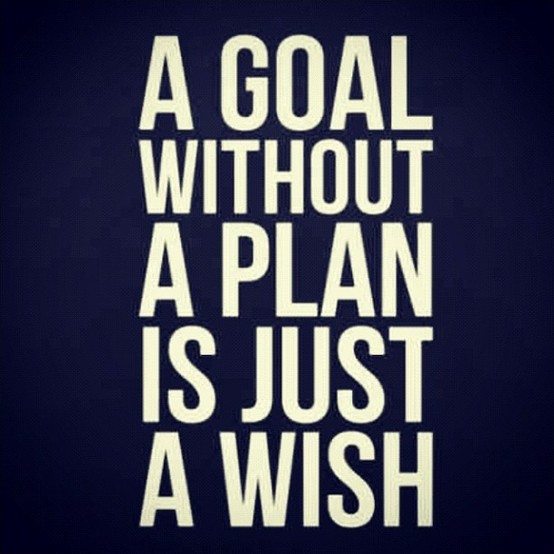 A goal without a plan is just a wish Picture Quote #2