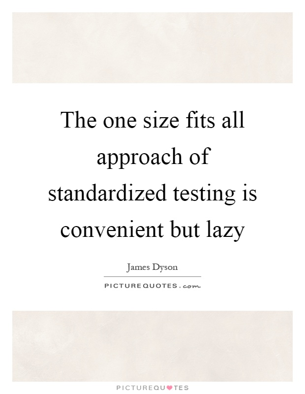 end standardized tests Standardized testing causes many teachers to teach to the tests, meaning they only spend instructional time on material that will appear on the test opponents say this practice lacks creativity and can hinder a student's overall learning potential.