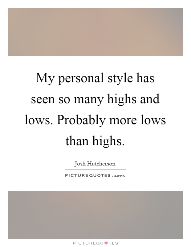 relationship highs and lows quotes