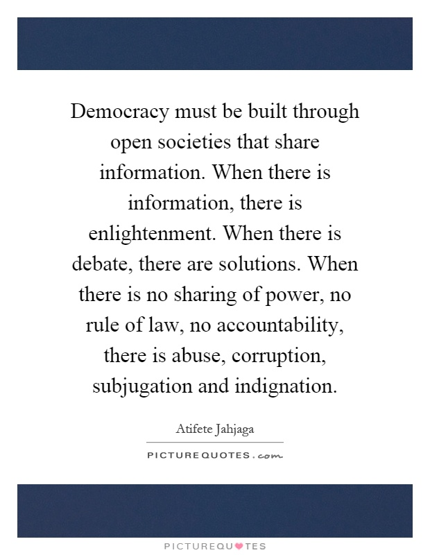 Judicial Accountability & Democracy
