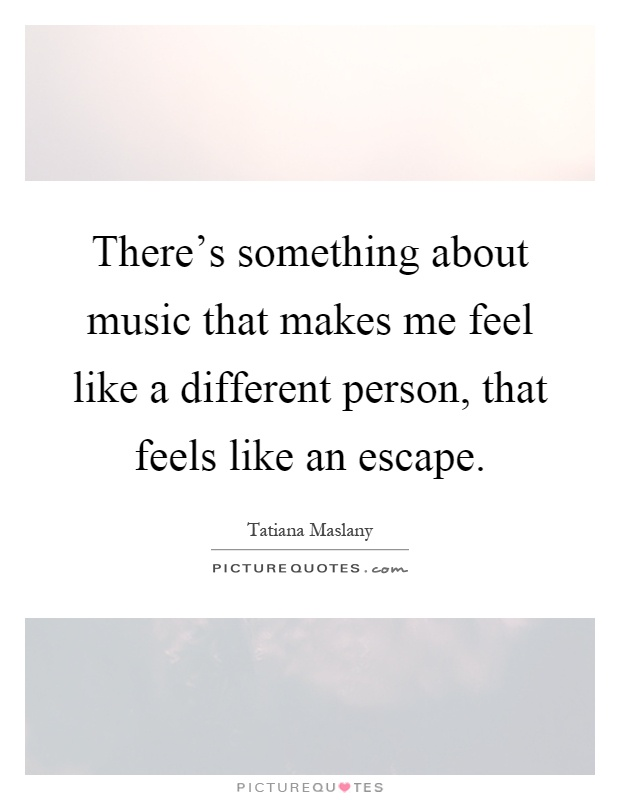 music that makes people feel peaceful Most people who work out listen to music that has a fast beat for this reason, and also because it makes exercising more enjoyable music has the ability to energize us through our physiology and can wake us up and get us pumped.