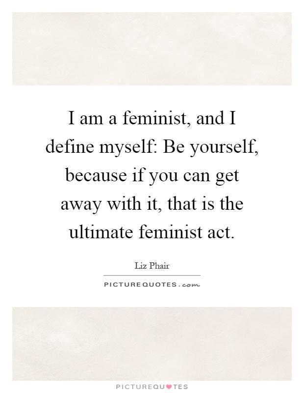 Am i a feminist essay