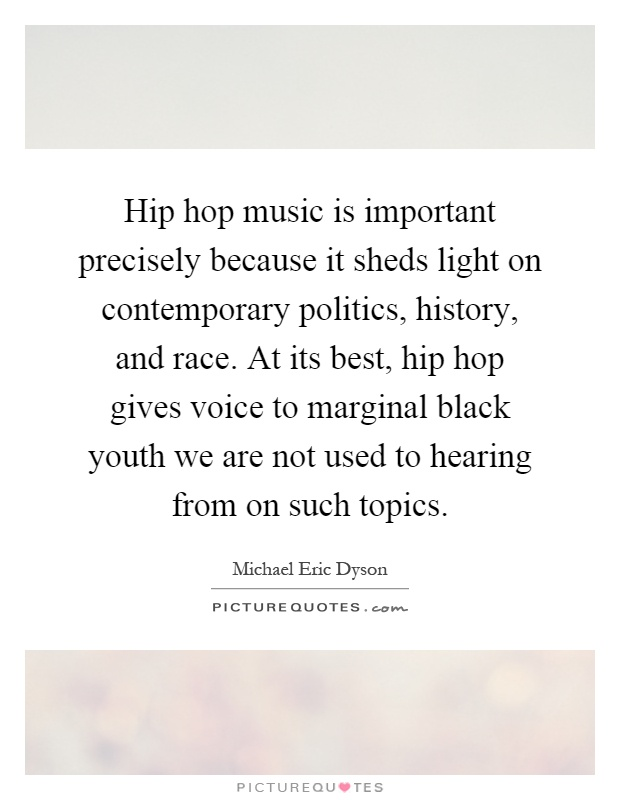 the negative effects of hip hop Name some of the positives and negatives you see in hip-hop and maybe what we can do to make more positives than negatives positive: bringing all different races in.