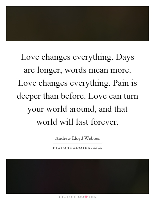 what words mean love