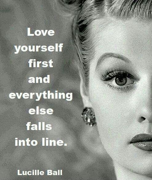 Love yourself first and everything else falls into line. You really have to love yourself to get anything done in this world Picture Quote #2