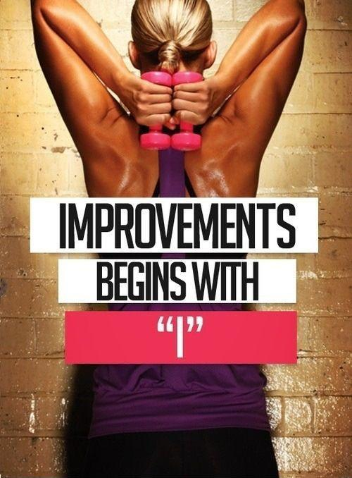 Improvements begins with