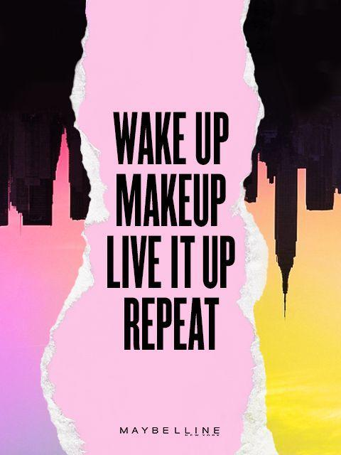 Wake up, live it up, repeat Picture Quote #1