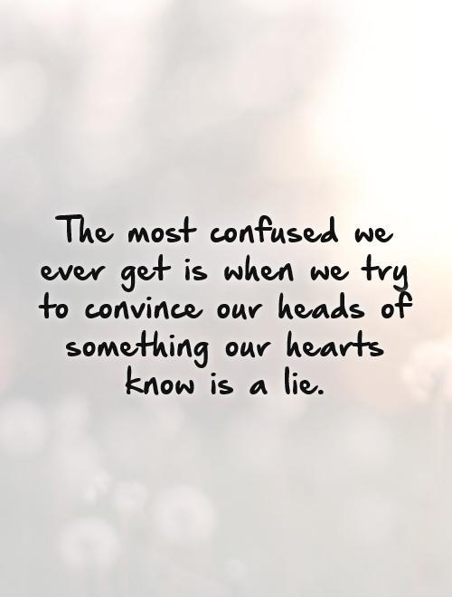 Pics Photos - Confused Love Quotes Sayings Pictures