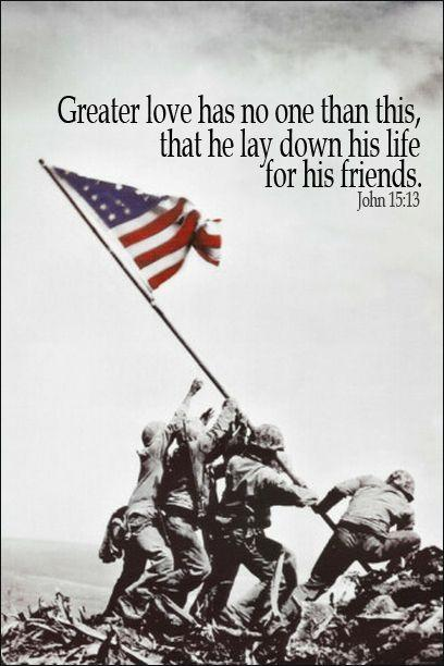 Greater love has no one than this, that he lay down his life for his friends Picture Quote #1