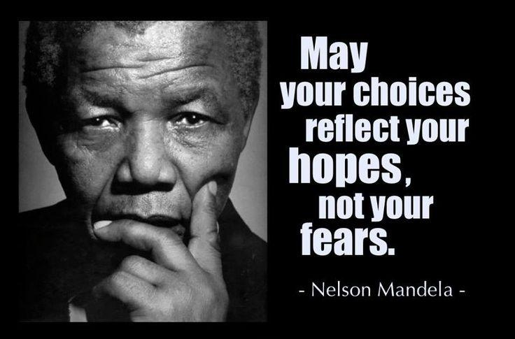 May your choices reflect your hopes, not your fears Picture Quote #2