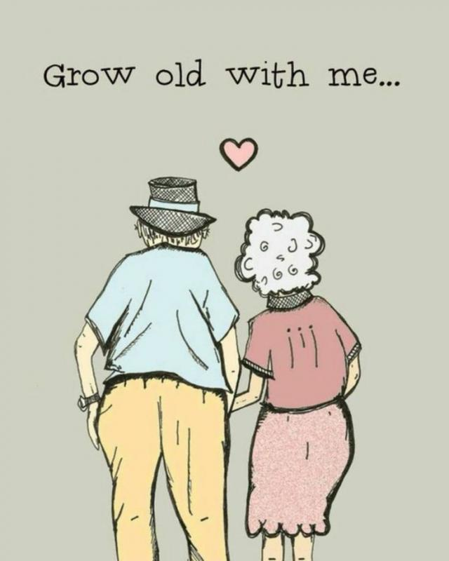 Grow old with me Picture Quote #1